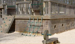 Bedgebury Pinetum kids playground