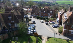 Goudhurst Church view