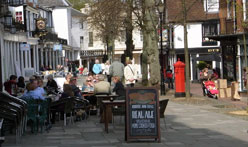 Pantiles in Royal Tunbridge Wells
