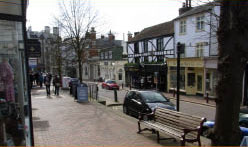 Tunbridge Wells Shopping within easy reach of Bedgebury Camping