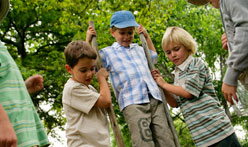 children activities at Bedgebury Camping in Kent